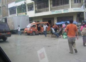 Salah satu stasiun yang dinilai melanggar aturan di kota Kabanjahe. (KAROPress/Ist)